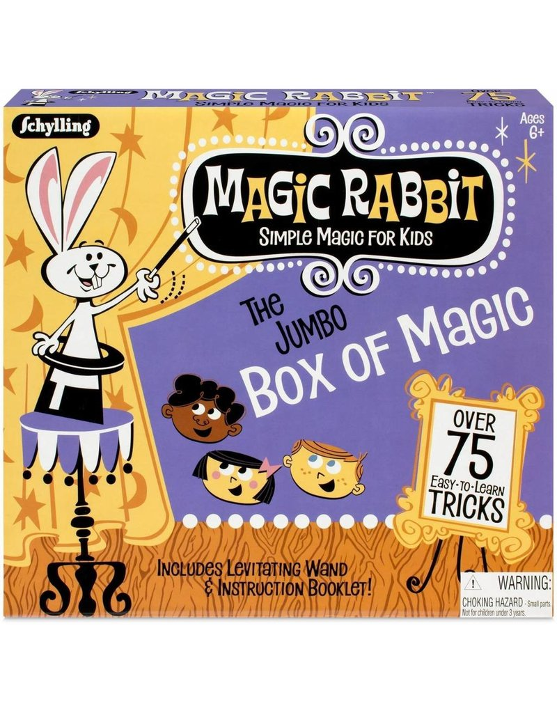 Schylling Toys Jumbo Box Of Magic Tricks