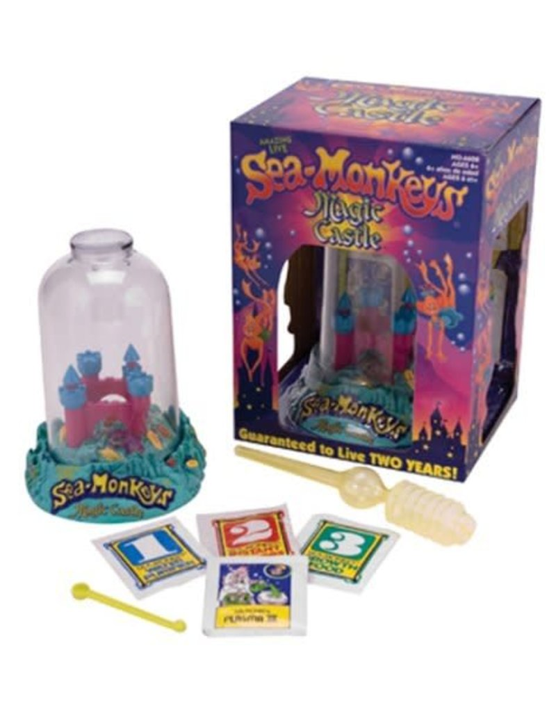 Schylling Toys Sea-Monkey Magic Castle