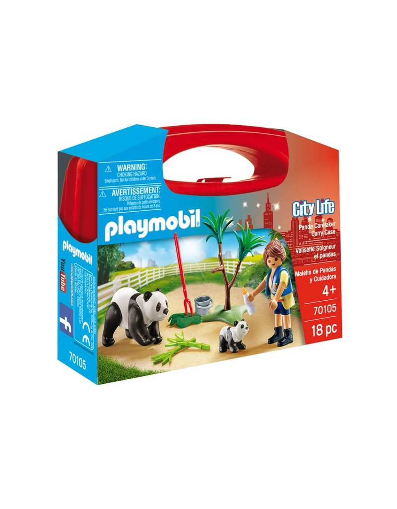 Playmobil Playmobil Panda Caretaker Carry Case