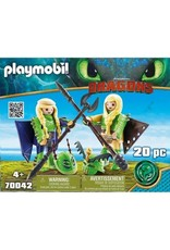 Playmobil Playmobil Ruffnut and Tuffnut with Flight Suit
