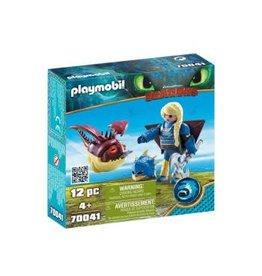 Playmobil Astrid with Hobgobbler