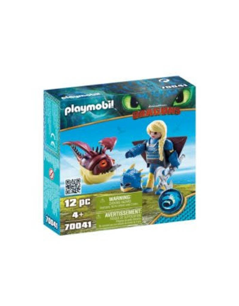 Playmobil Astrid with Hobgobbler