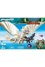 Playmobil Playmobil Light Fury with Baby Dragon and Children