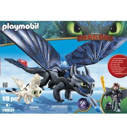 Playmobil Playmobil Hiccup and Toothless with Baby Dragon