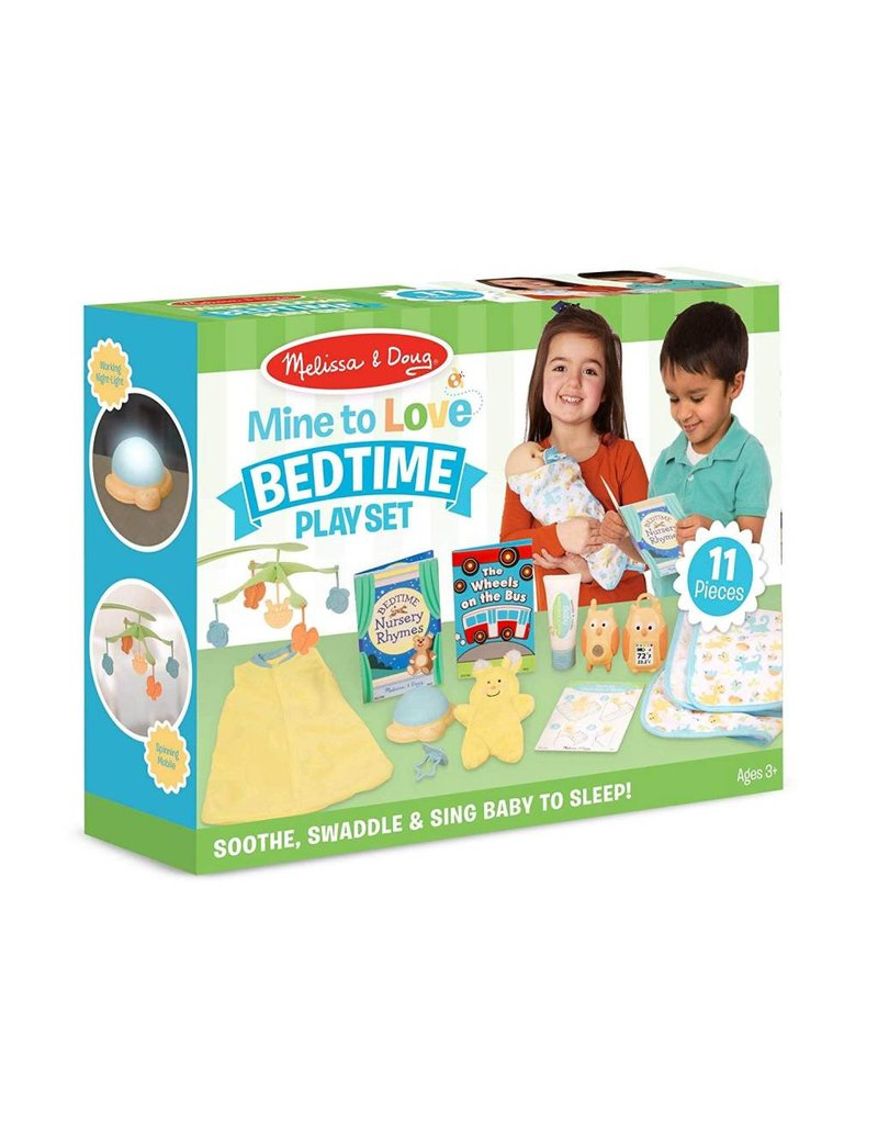 Melissa & Doug Mine to Love - Bedtime Play Set