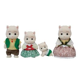 Epoch Calico Critters Woolly Alpaca Family