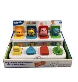 Epoch Baby Pop 'n Play Animal Friends