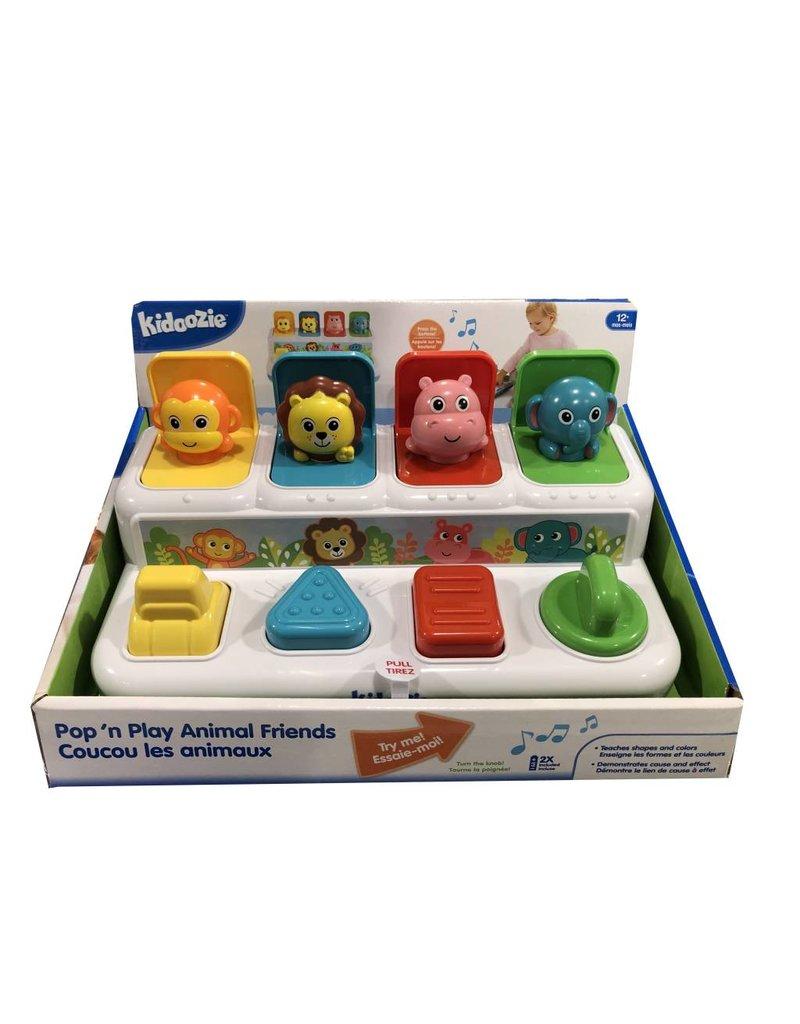 Epoch Baby Pop 'n Play Animal Friends