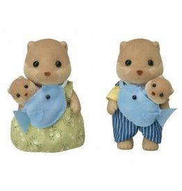 Epoch Calico Critters Splashy Otter Family