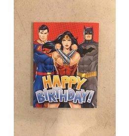 Playhouse DC Comics Big 3 Birthday Card