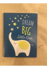 Playhouse Dream Big Elephant Foil Birthday Card