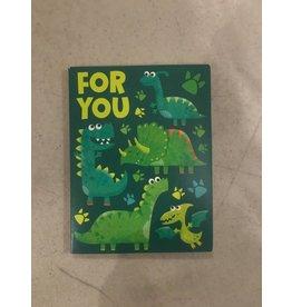 Playhouse Dinosaur Birthday Card