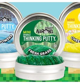 Crazy Aaron Putty Crazy Aaron's Thinking Putty - Sparkle Fresh Grass Mini Tin