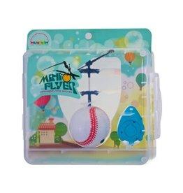 Mukikim Mini Flyer Baseball (Plastic Box)