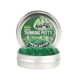 Crazy Aaron Putty Crazy Aaron's Thinking Putty - Sparkle - Fresh Grass Mini Tin