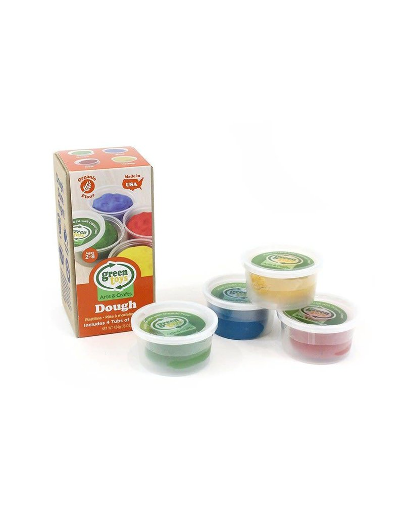 Green Toys Green Toys - Arts & Crafts Dough - 4 Tubs