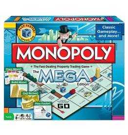 Winning Moves Game - Monopoly Mega Edition