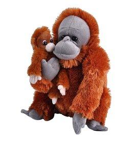 Wild Republic Plush Mom and Baby Orangutan