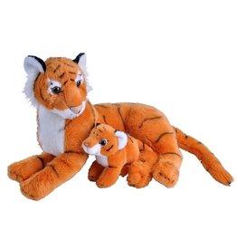 Wild Republic Plush Mom & Baby Tiger
