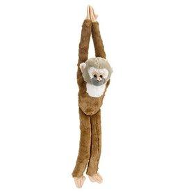 Wild Republic Plush Hanging Squirrel Monkey