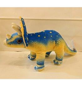 Wild Republic Plush Print Triceratops Dinosaur