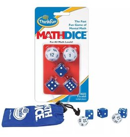 Think Fun Dice Game - Math Dice