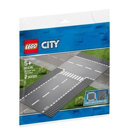 LEGO LEGO City: Straight and T-junction Plate