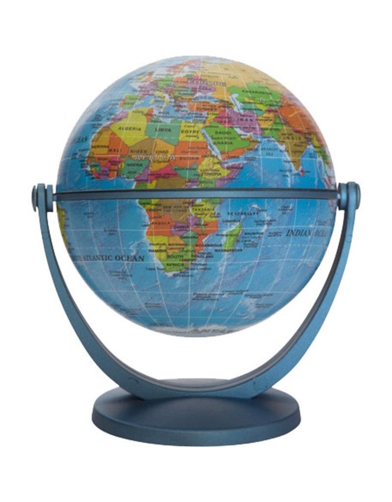 "Round world 4"" Blue Ocean GyroGlobe"