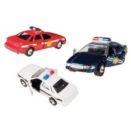 Toysmith Toysmith Pullback Patrol Car (Assorted)