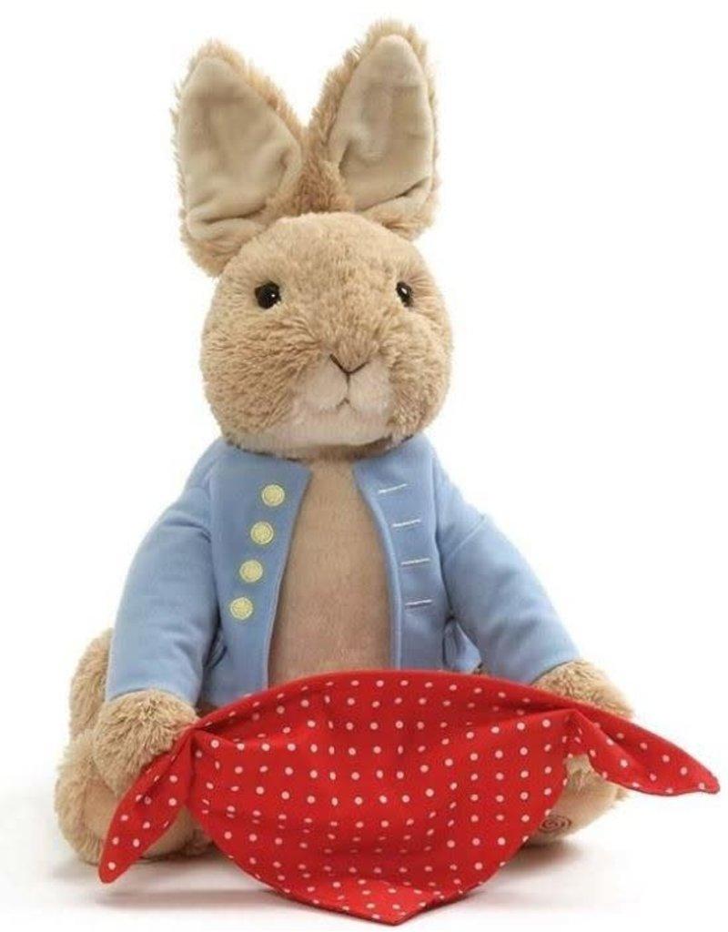Gund Peter Rabbit Peek-a-Boo