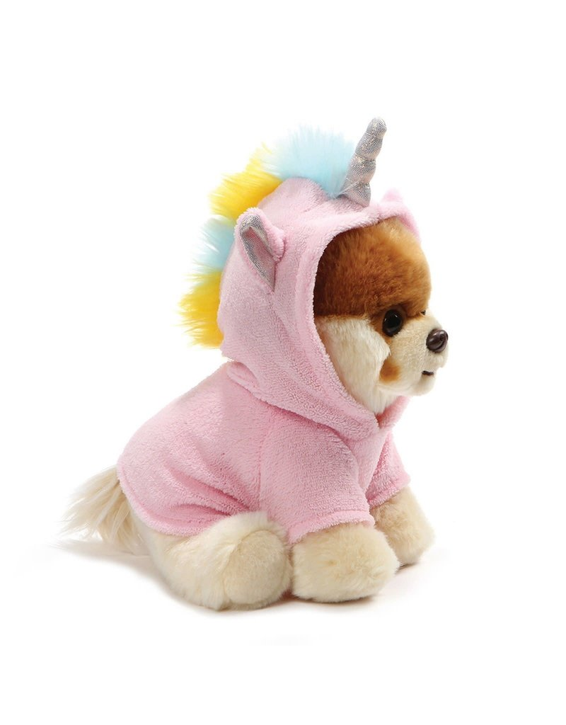 "Gund Plush Boo Unicorn Dog 9"""
