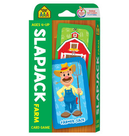 School Zone Flashcards - Slapjack Farm Card Game
