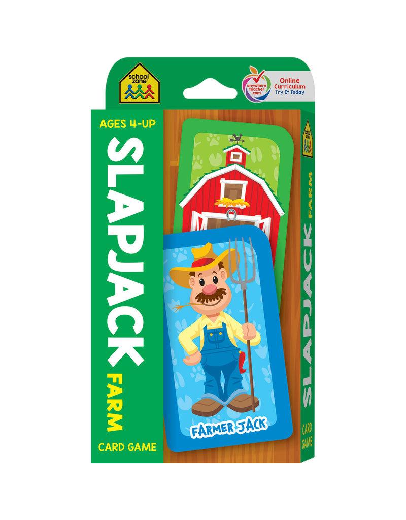 School Zone Flashcards - Slapjack Farm Card Game