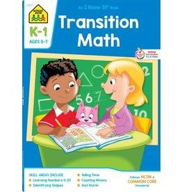School Zone Workbook - Transition Math (K-1)