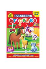 School Zone Preschool Stickers
