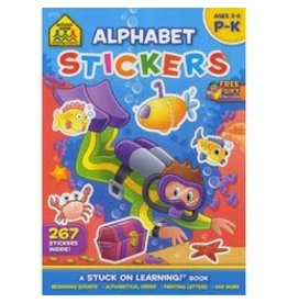School Zone Alphabet Stickers