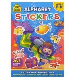School Zone Workbook - Alphabet Stickers