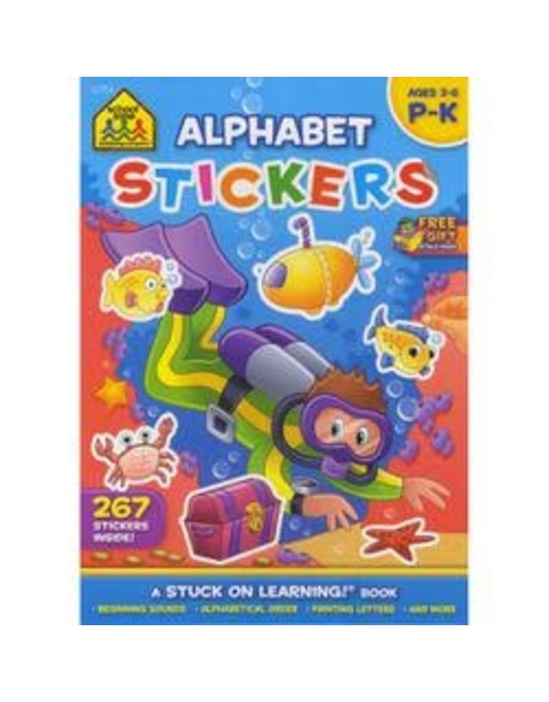 School Zone Alphabet Stickers