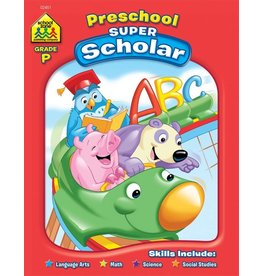 School Zone Preschool Super Scholar
