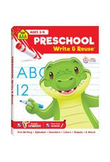 School Zone PreSchool Write & Reuse