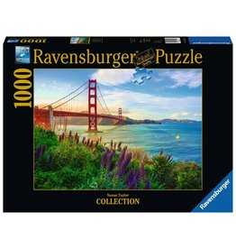 Ravensburger Ravensburger Puzzle - Golden Gate Sunrise - 1000 Piece