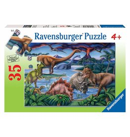 Ravensburger Dinosaur Playground Puzzle 35 Pieces
