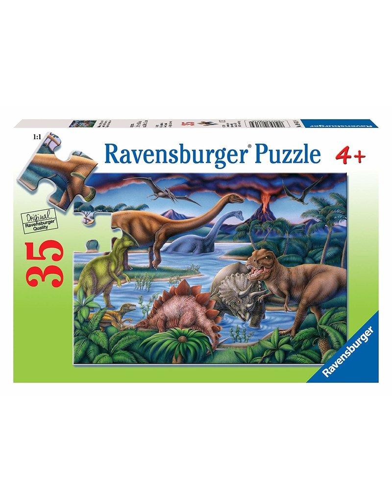 Ravensburger Ravensburger Puzzle - Dinosaur Playground (35 Pieces)