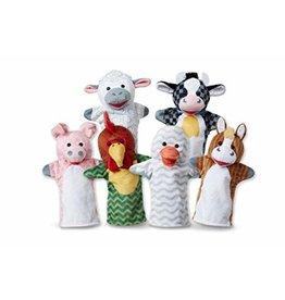 Melissa & Doug Barn Buddies Hand Puppets