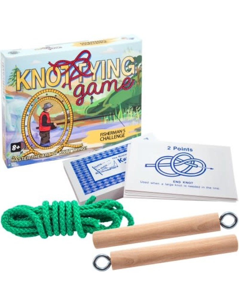 Channel Craft Knot Tying Game - Fisherman's Challenge