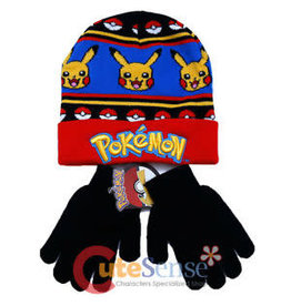 Bioworld Pokémon Hat & Gloves