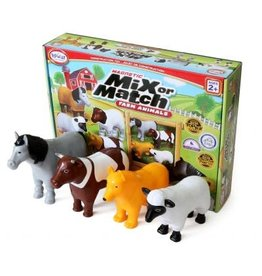 Popular Playthings Magnetic Mix or Match - Farm Animals