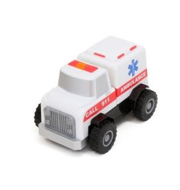 Popular Playthings Magnetic Build-a-Truck Fire and Rescue