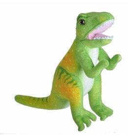 Wild Republic Plush Print Dinosaur - Tyrannosaurus Rex