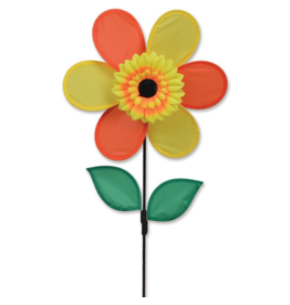 "Premier Kites Autumn Sunflower 12"" Flower Spinner"